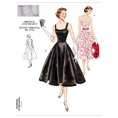 Kleid - Vintage 1952, Vogue 2902 | 32 - 36