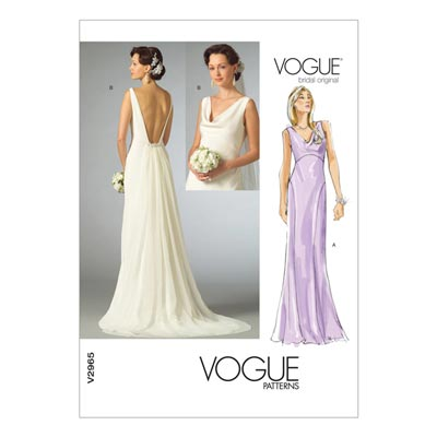 Brautkleid, Vogue 2965 | 30 - 34