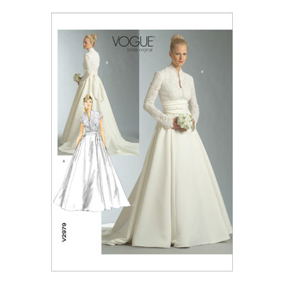 Brautkleid, Vogue 2979 | 38 - 42