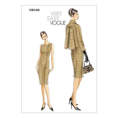 Kleid/Jacke, Vogue 8146 | 32 - 38