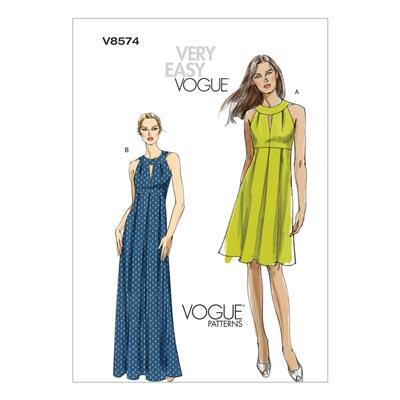 Kleid, Vogue 8574 | 32 - 38
