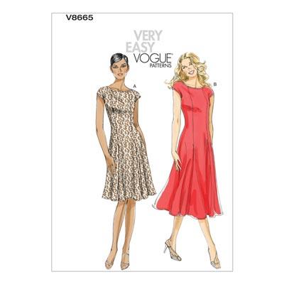 Kleid, Vogue 8665 | 34 - 40