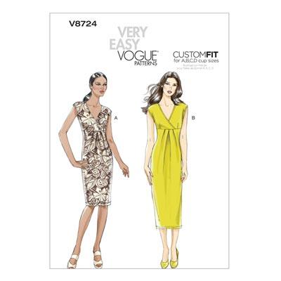 Kleid, Vogue 8724 | 32 - 40