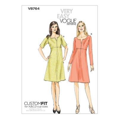 Kleid, Vogue V8764