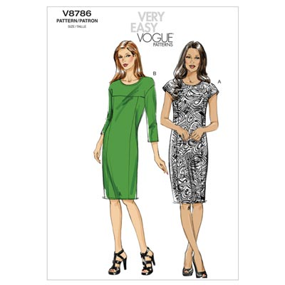 Etuikleid, Vogue 8786 | 32 - 40