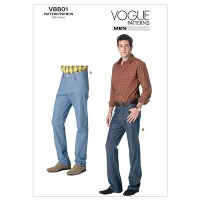 Jeans, Vogue 8801 | 46 - 54