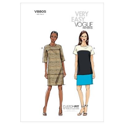 Kleid, Vogue 8805 | 34 - 42