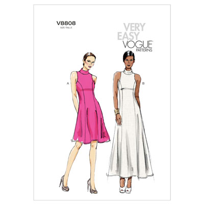 Maxikleid, Vogue 8808 | 32 - 40