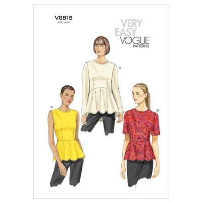 Tops, Vogue 8815 | 34 - 42