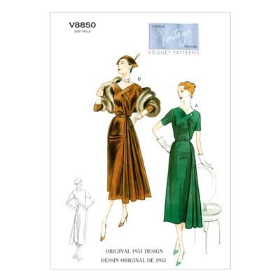 Kleid, Vogue 8850 | 42 - 50