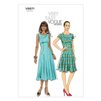 Kleid, Vogue V8871