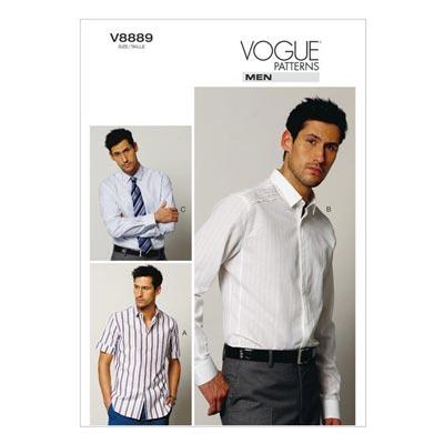 Hemd, Vogue V8889