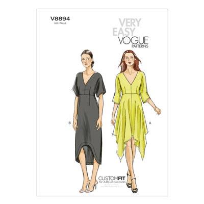 Kleider, Vogue 8894 | 32 - 40