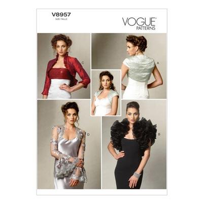 Boleros, Vogue 8957 | 40 - 48