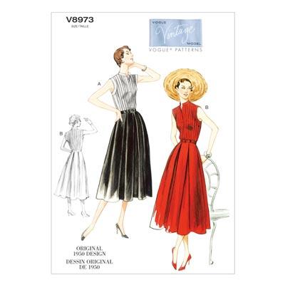 Kleid/Gürtel, Vogue 8973 | 42 - 50
