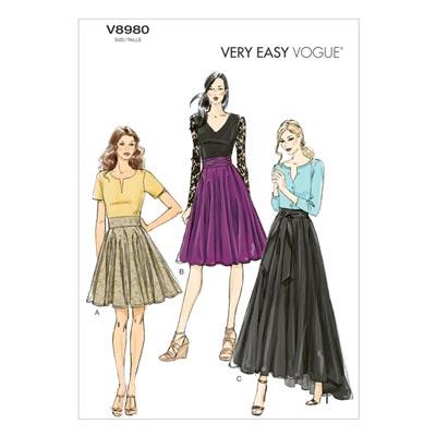 Röcke, Vogue 8980 | 32 - 40