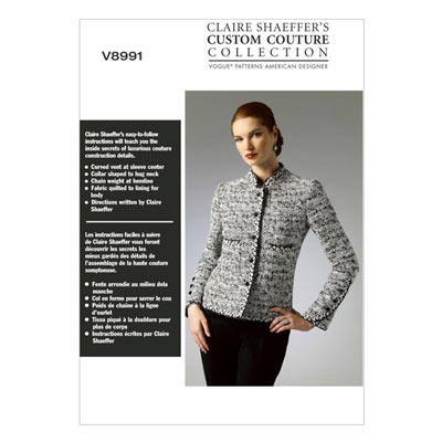 Jacke/Blazer, Vogue 8991 | 32 - 40