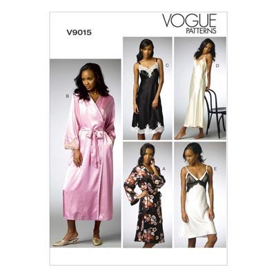 Nachtwäsche, Vogue 9015 | 32 - 40