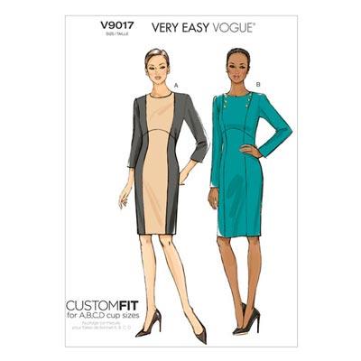 Kleid, Vogue V9017