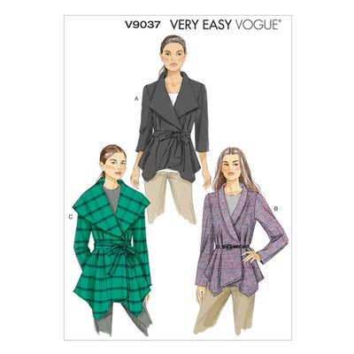Jacke / Gürtel Vogue V9037