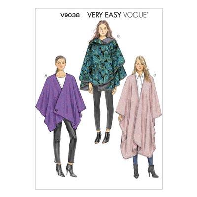 Cape, Vogue V9038