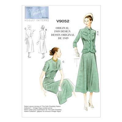 Kleid/Jacke, Vogue 9052 | 34 - 42