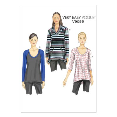 Pullover/Top, Vogue 9055 | 32 - 40