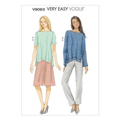 Tops, Vogue 9063 | 32 - 40