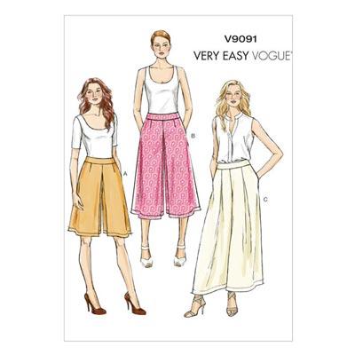 Culottes / Hose, Vogue V9091