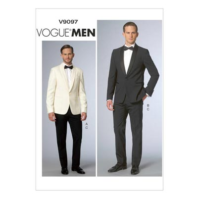 Mens Jacke / Hose, Vogue V9097
