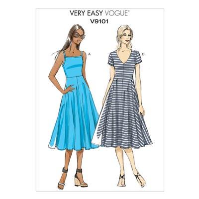 Kleid, Vogue 9101