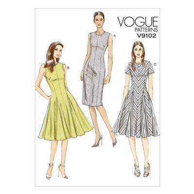 Kleid, Vogue 9102