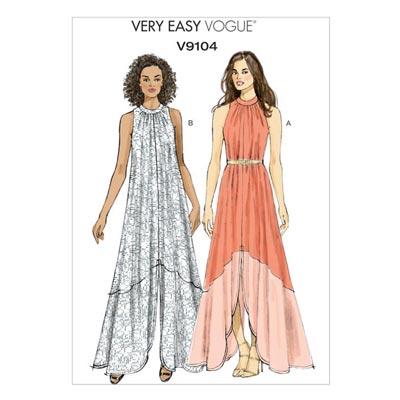 Kleid, Vogue 9104