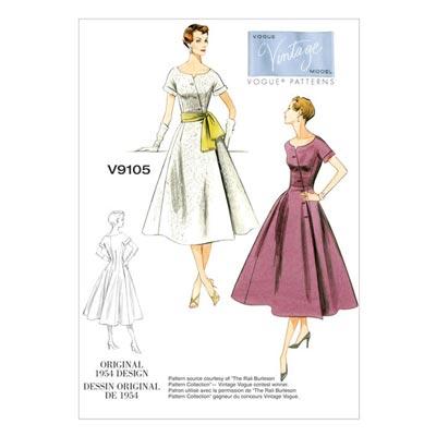 Kleid, Vogue 9105