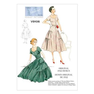 Kleid, Vogue 9106