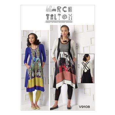 Kleid, Vogue 9108
