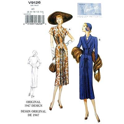 Kleid, Vogue 9126