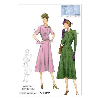 Kleid, Vogue 9127
