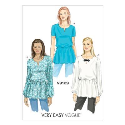 Top, Vogue 9129