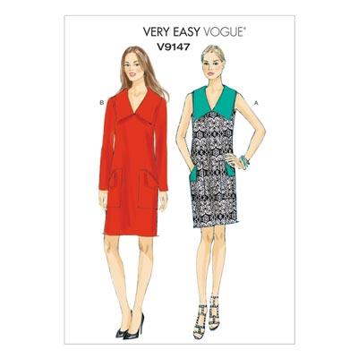 Kleider, Vogue 9147 | 32 - 40