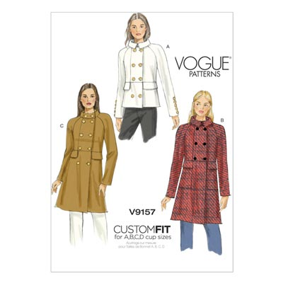 Jacke/Mantel, Vogue 9157 | 40 - 48
