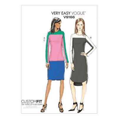 Pullover/Tunika/Röcke, Vogue 9166 | 32 - 40