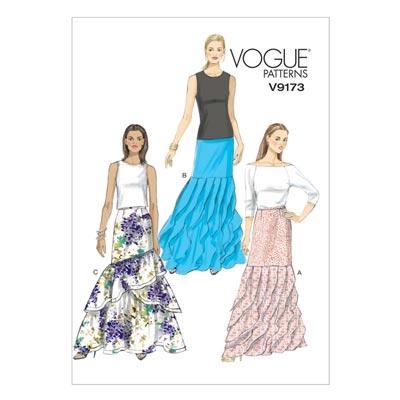 Röcke, Vogue 9173 | 32 - 40