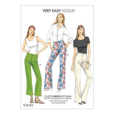 Hosen, Vogue 9181 | 40 - 48