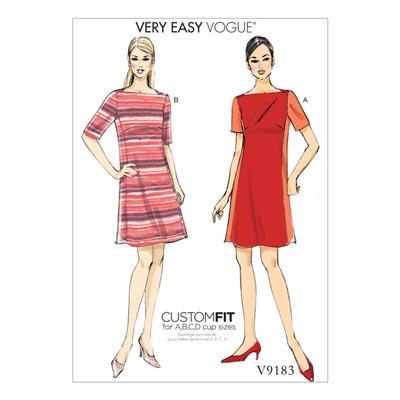 Kleider, Vogue 9183 | 32 - 40