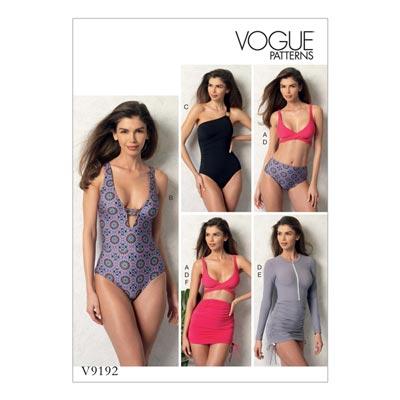Badebekleidung, Vogue 9192 | 32 - 40