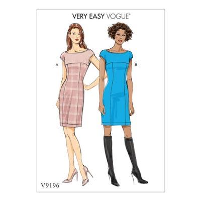 Kleid, Vogue 9196 | 32 - 40