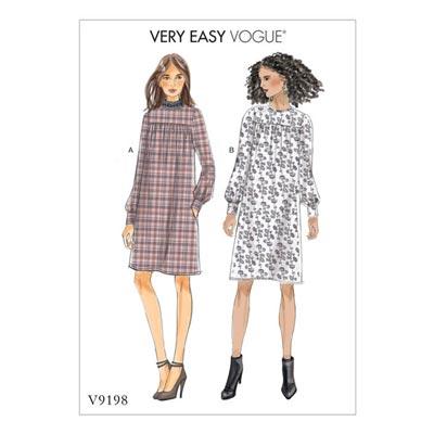 Kleid, Vogue 9198 | 32 - 40
