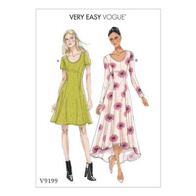 Kleid, Vogue 9199 | 32 - 40