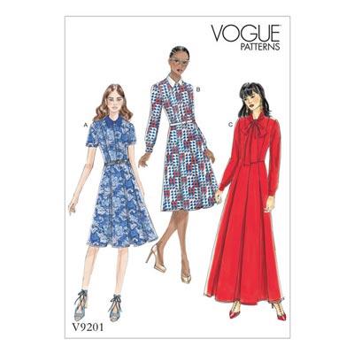 Kleid, Vogue 9201 | 32 - 40